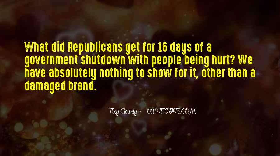 Quotes About Shutdown #1748405