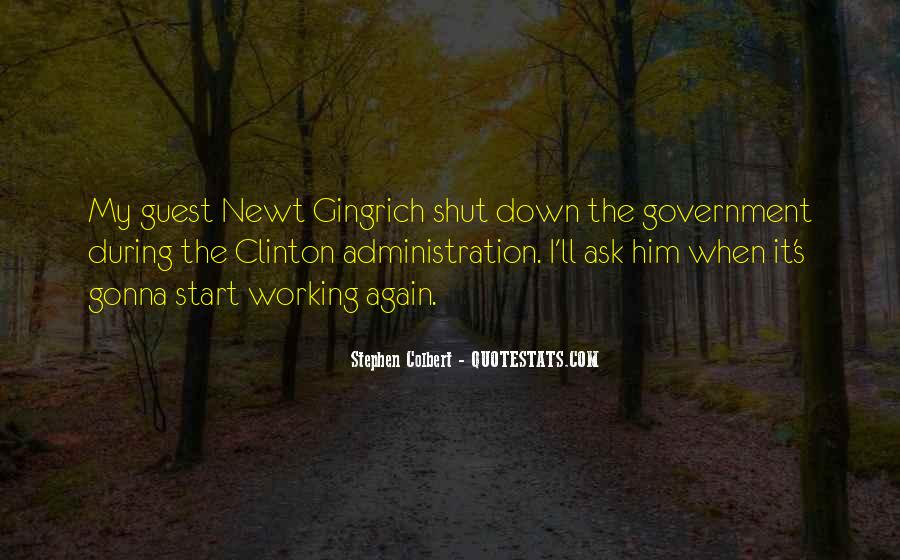 Quotes About Shutdown #1755083