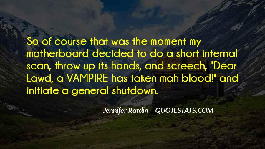 Quotes About Shutdown #280179
