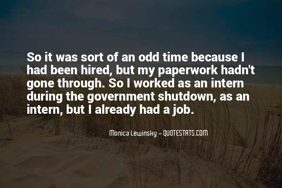 Quotes About Shutdown #969426
