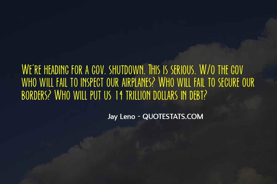 Quotes About Shutdown #990091