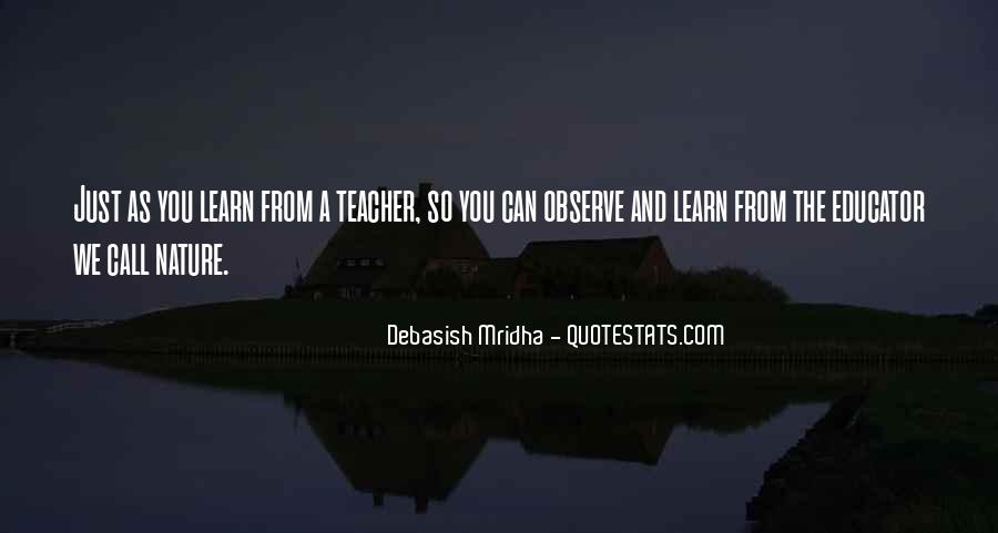 Learning Quotes And Sayings #1216664