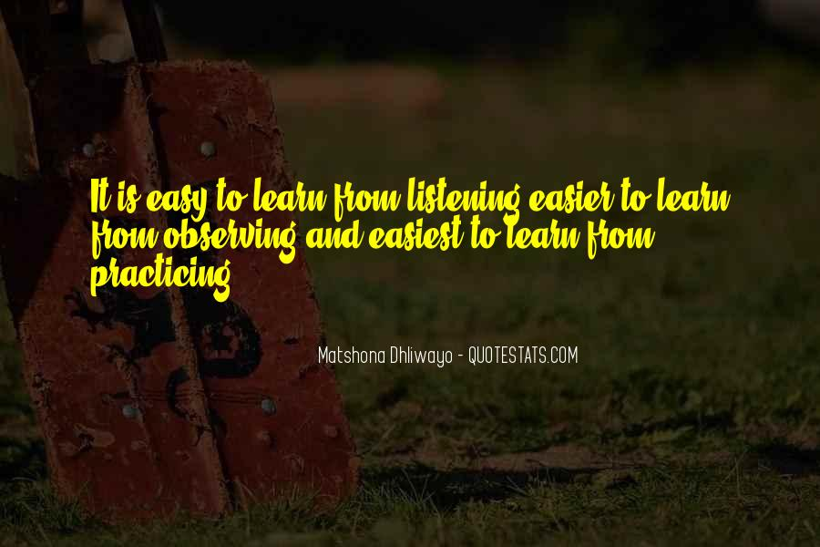 Learning Quotes And Sayings #1616195