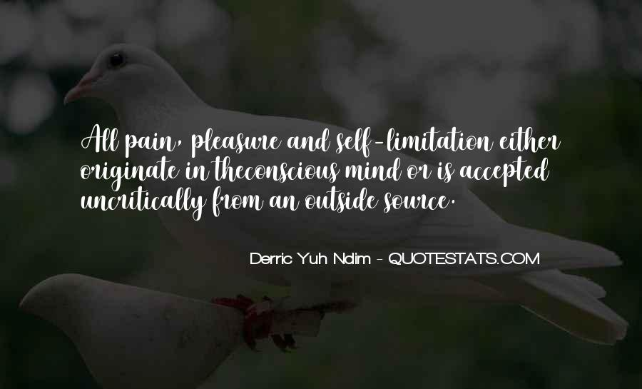 Limitation Quotes And Sayings #1566375