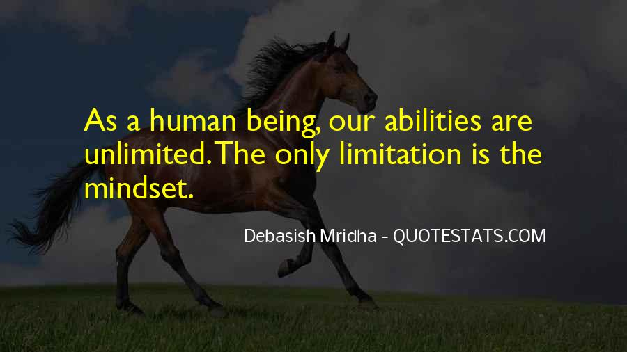 Limitation Quotes And Sayings #1700504