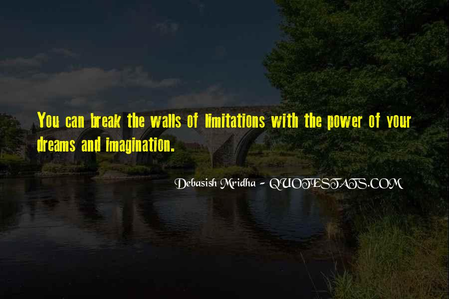 Limitation Quotes And Sayings #86888