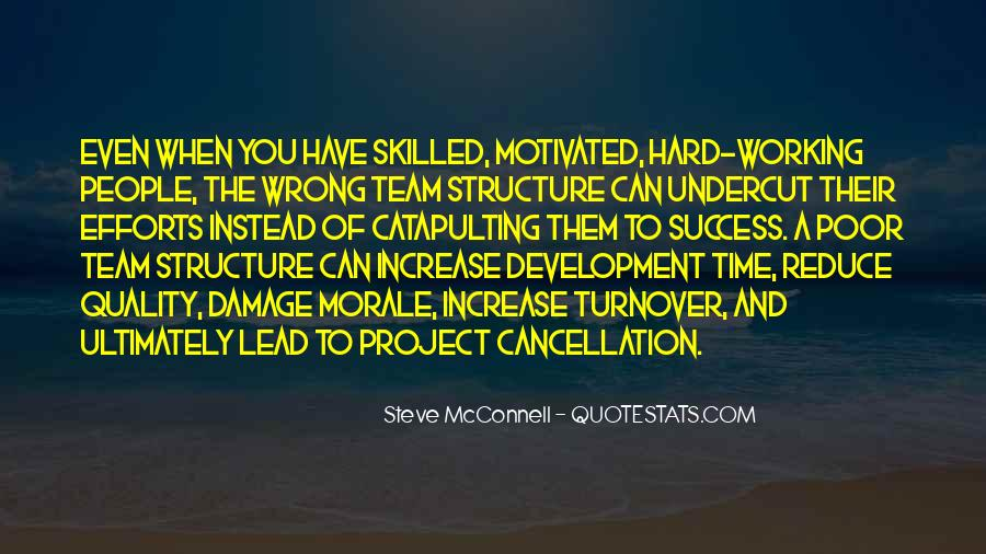 Quotes About Hard Working Team #1873164