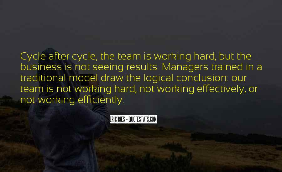 Quotes About Hard Working Team #657830