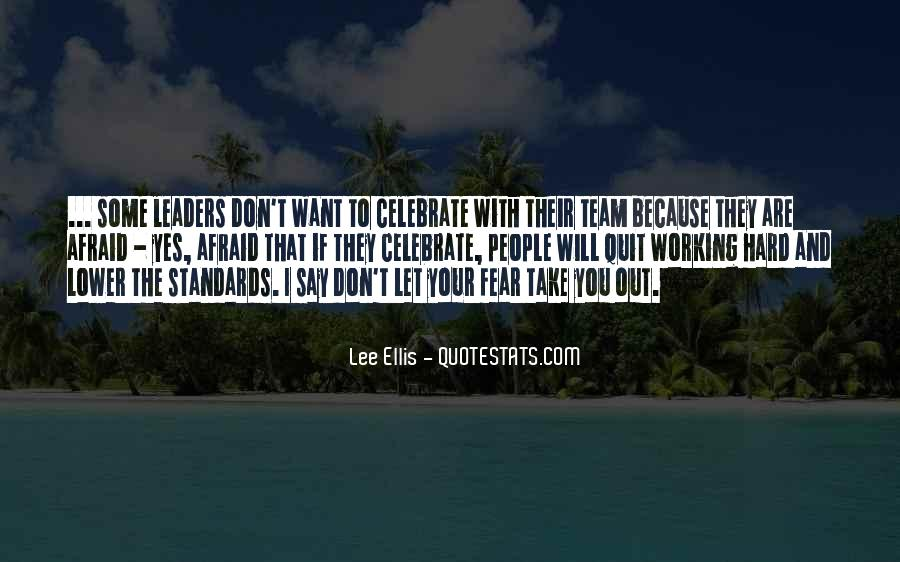 Quotes About Hard Working Team #864171