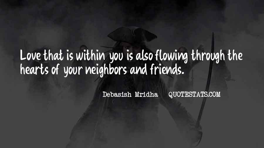 Neighbors Quotes And Sayings #1270599