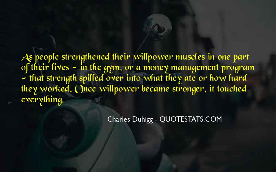 Willpower Of A Sayings #1188804