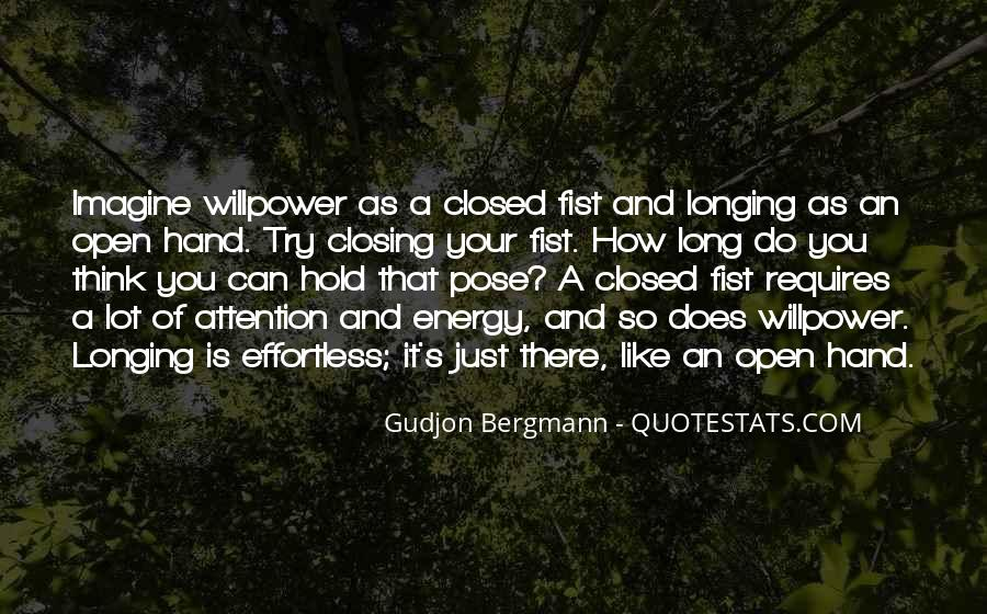 Willpower Of A Sayings #36981