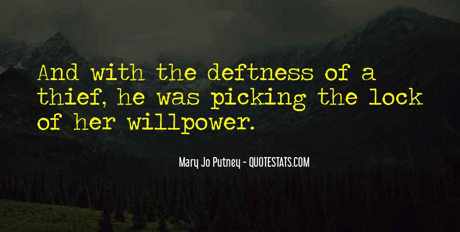 Willpower Of A Sayings #448640