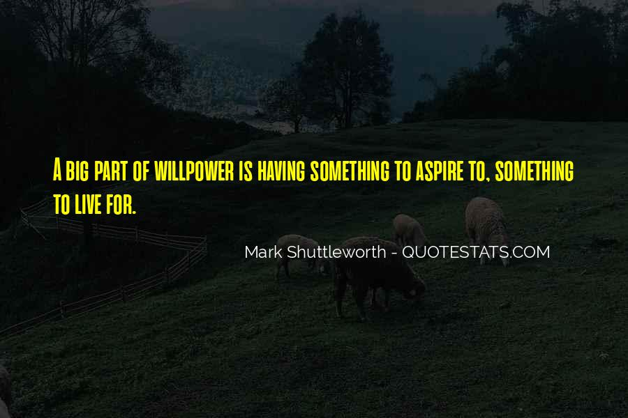 Willpower Of A Sayings #616906