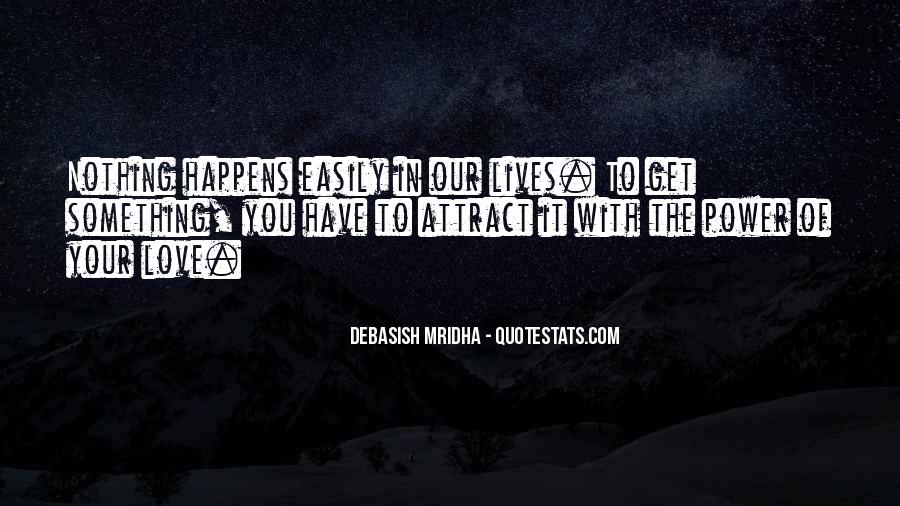 Our Love Quotes Sayings #128268