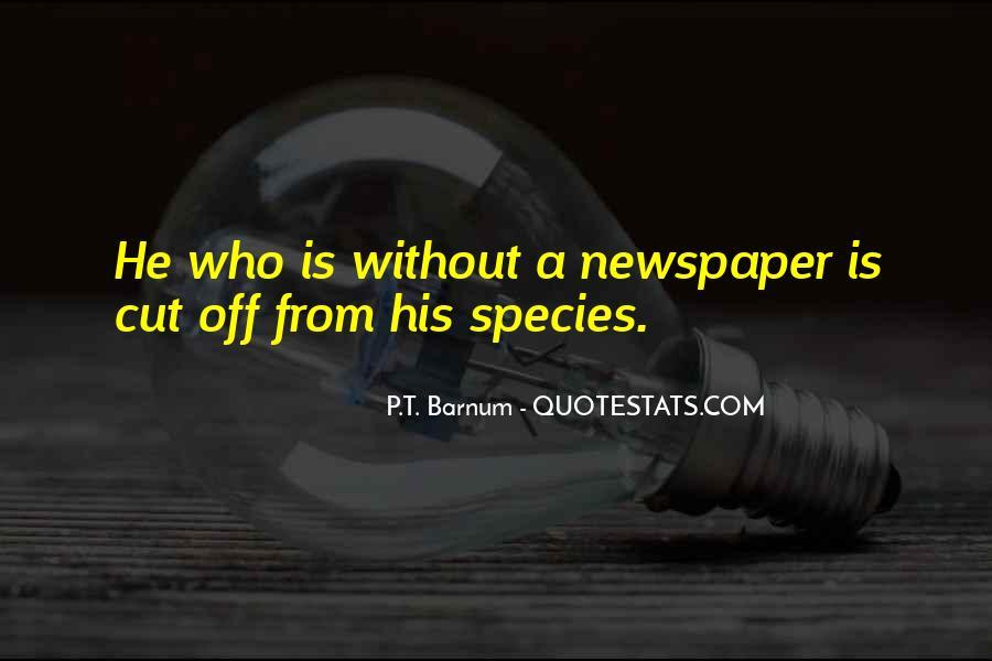 P T Barnum Sayings #1046185