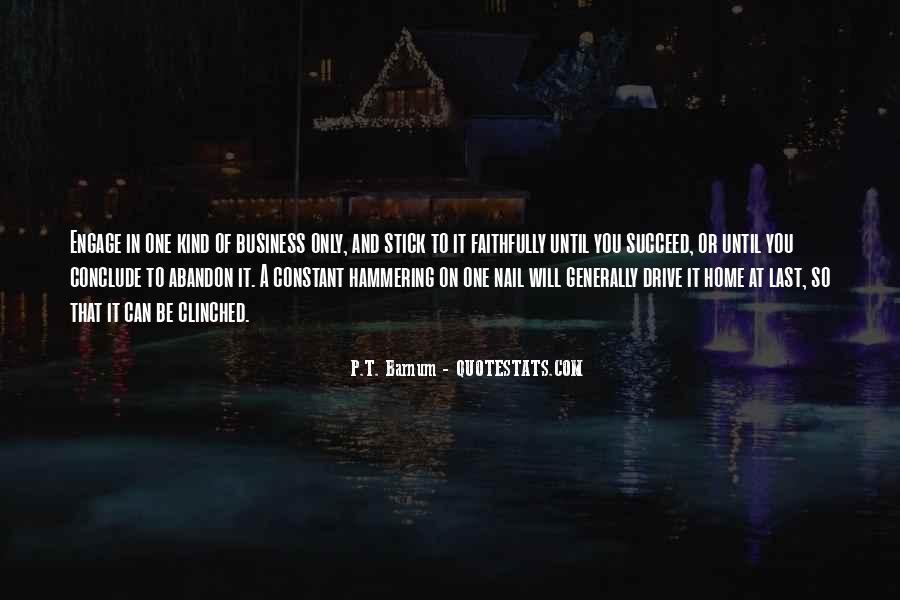 P T Barnum Sayings #1282322
