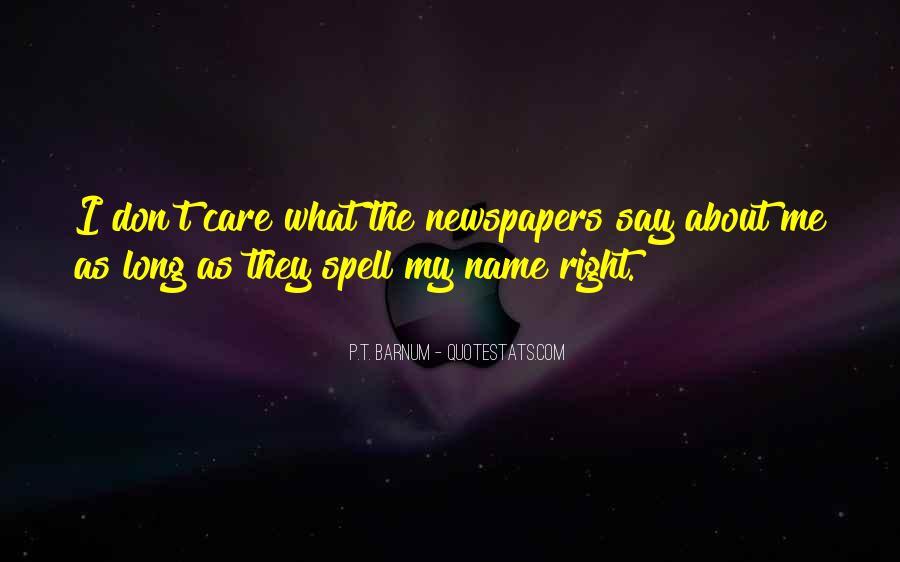P T Barnum Sayings #629071