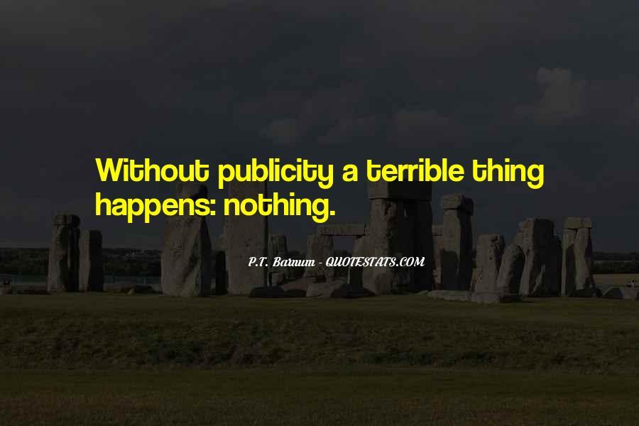 P T Barnum Sayings #895121