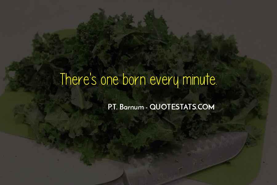 P T Barnum Sayings #925899