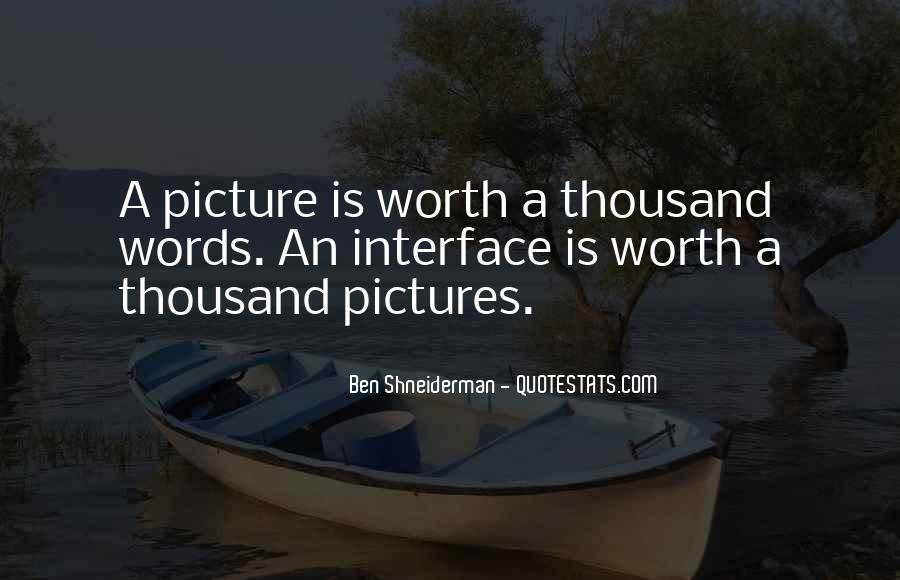 Quotes About A Picture Worth A Thousand Words #100222