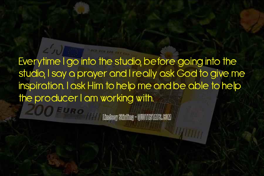 Producer Quotes Sayings #1443380