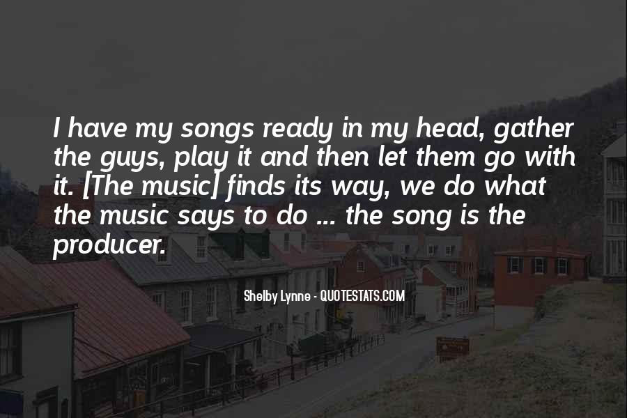 Music Producer Sayings #1141838