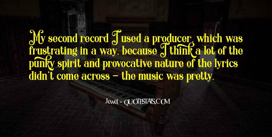 Music Producer Sayings #1284413