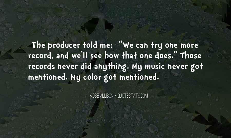 Music Producer Sayings #1436310