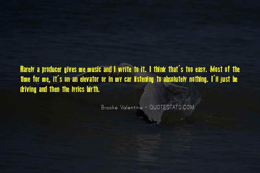 Music Producer Sayings #1542835