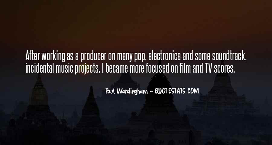 Music Producer Sayings #1824654