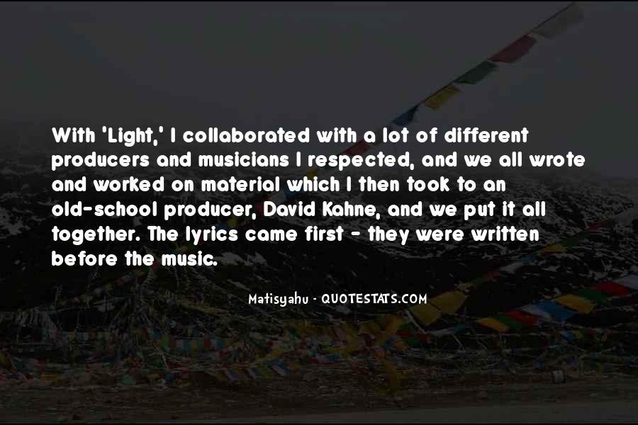 Music Producer Sayings #1853624