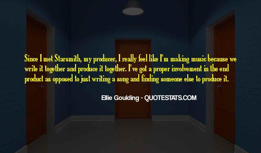 Music Producer Sayings #311537