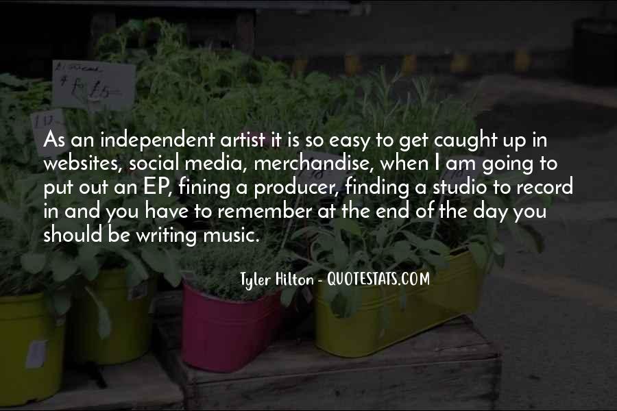 Music Producer Sayings #482824