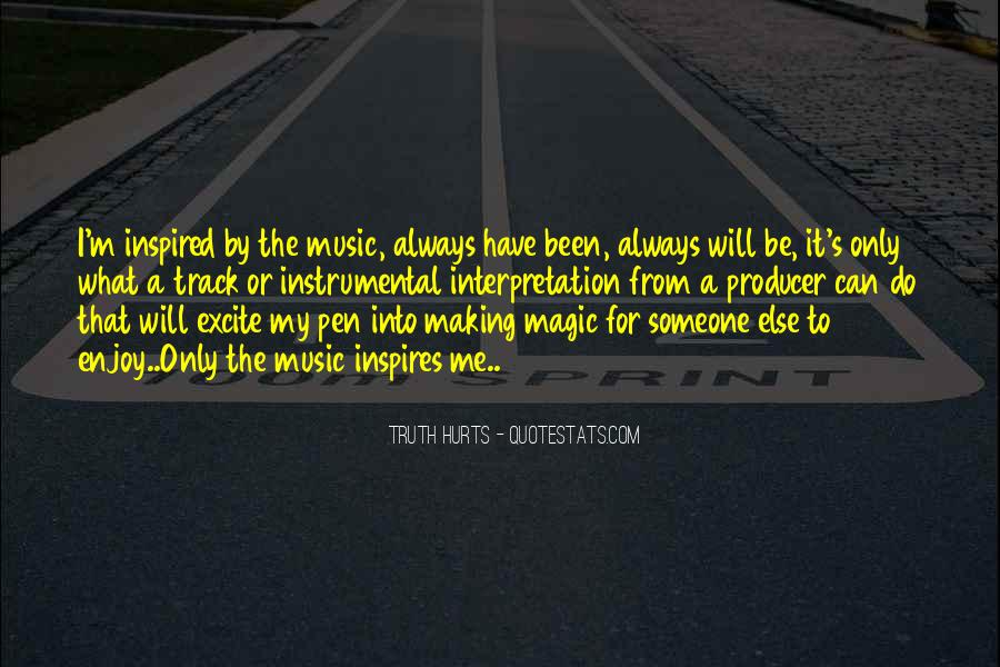 Music Producer Sayings #838885