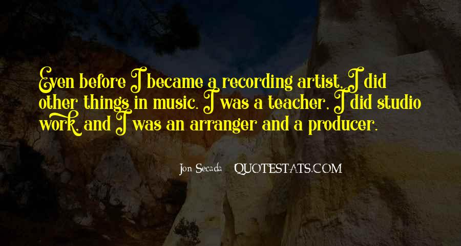 Music Producer Sayings #910573