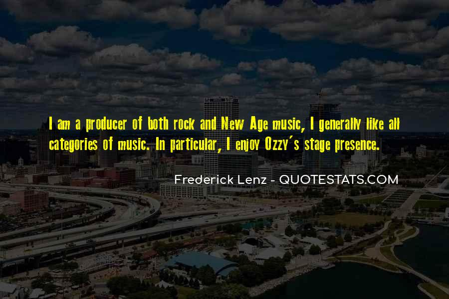 Music Producer Sayings #91357