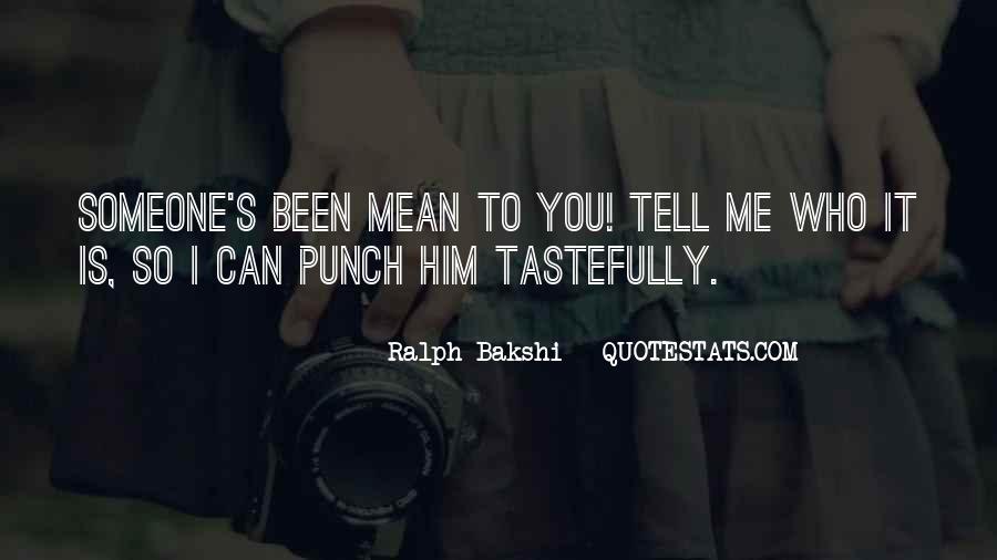 Mr Punch Sayings #91177