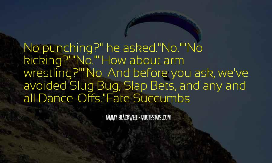 Punching Quotes And Sayings #1600581