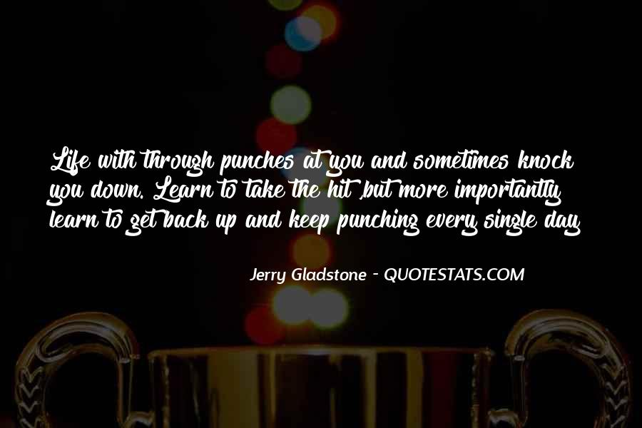 Punching Quotes And Sayings #319542