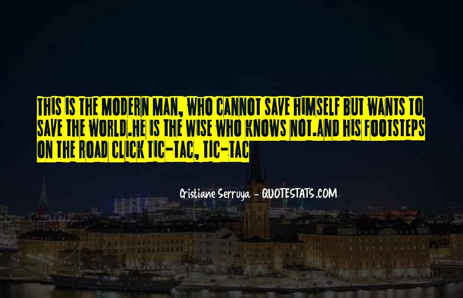 Road Man Sayings #61592