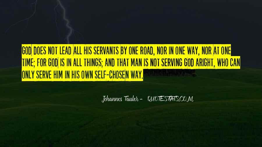 Road Man Sayings #727428