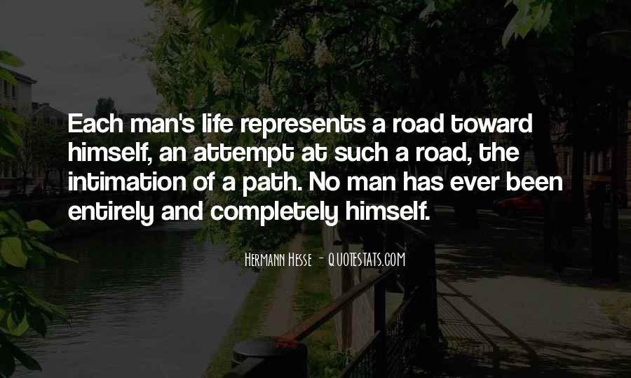 Road Man Sayings #87071