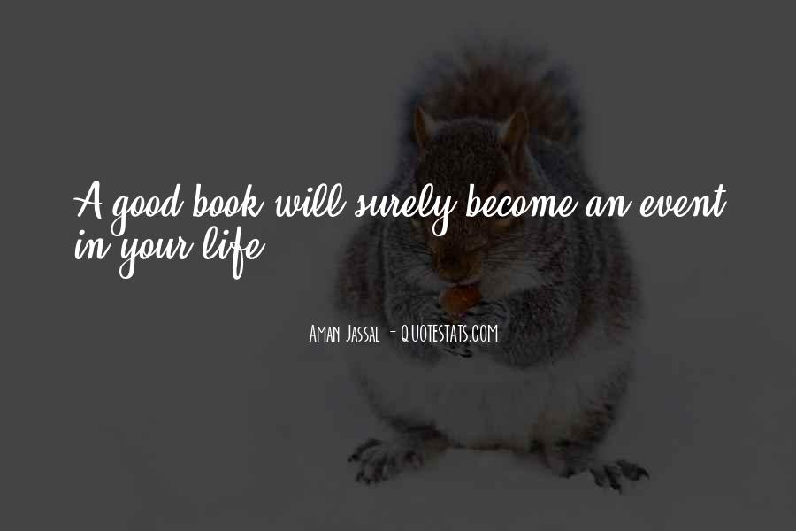 Event Quotes And Sayings #1344015