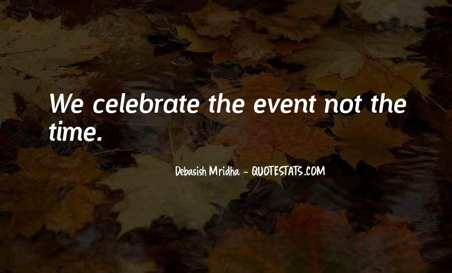 Event Quotes And Sayings #1537929