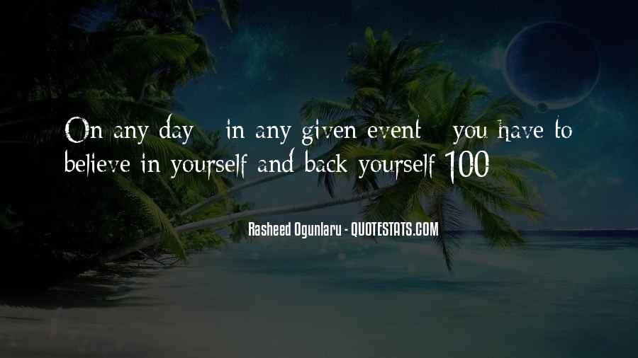 Event Quotes And Sayings #154697