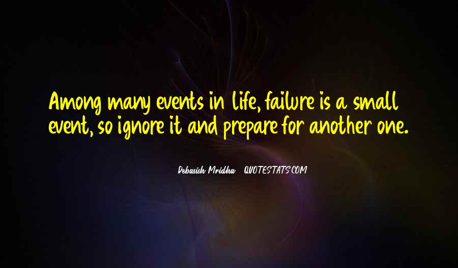 Event Quotes And Sayings #1846504