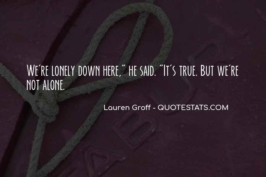 Sad But True Love Sayings #255445
