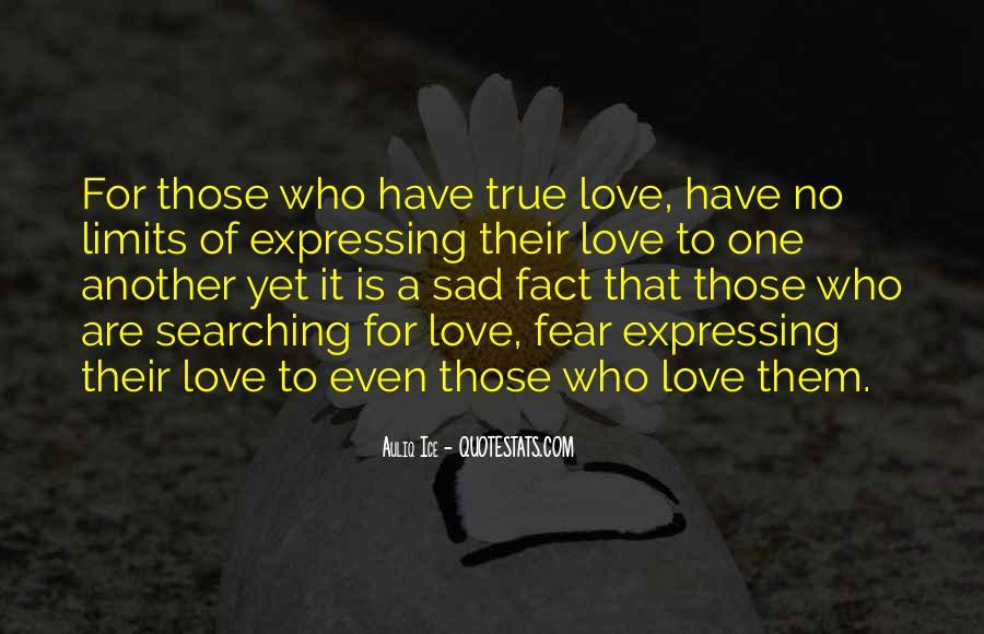 Sad But True Love Sayings #483708