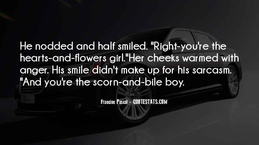 Quotes About Half Smile #1040059